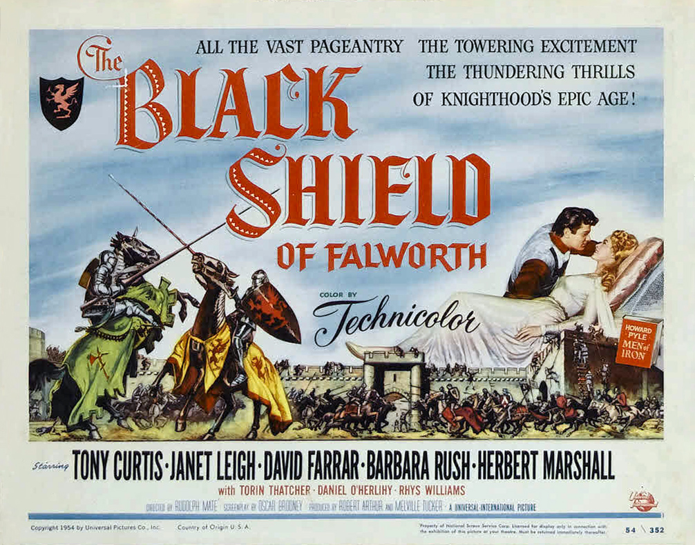 Poster - Black Shield of Falworth, The_02