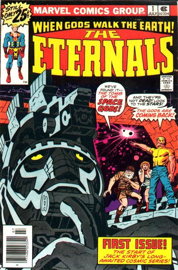 The Eternals v1 #01