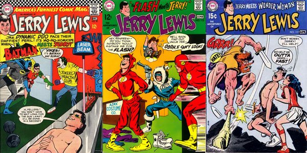 Covers from The Adventures of Jerry Lewis