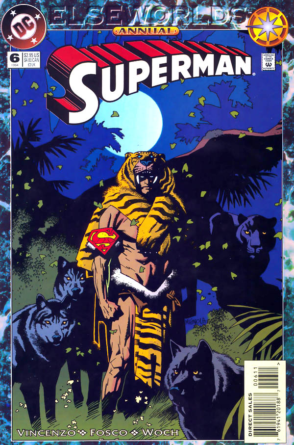 Cover of Superman Annual #6 (1994), art by Mike Mignola