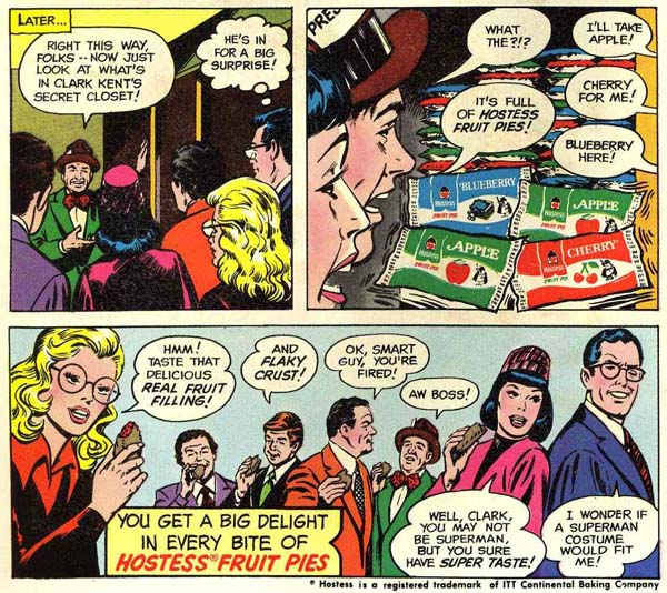 "Panel from Hostess ad ""The Spy"" in Tales of Ghost Castle #2 (1975), art by Curt Swan and Vince Colletta"