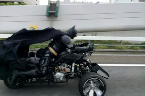 VIDEO No Joker As Batbike Spotted In Japan