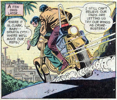 Panel from World's Finest Comics #215 (1972), script by Bob Haney, art by Dick Dillin and Henry Scarpelli