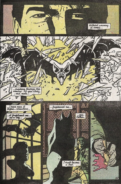 It's not like it was an antiquated idea. Here's a fantastic version in Batman: Year One by Miller and Mazzucchelli.