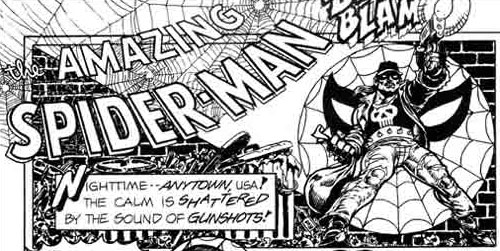 from The Amazing Spider-Man Meets Sally's Superheroes one-shot (1992), art by Arlen Schumer