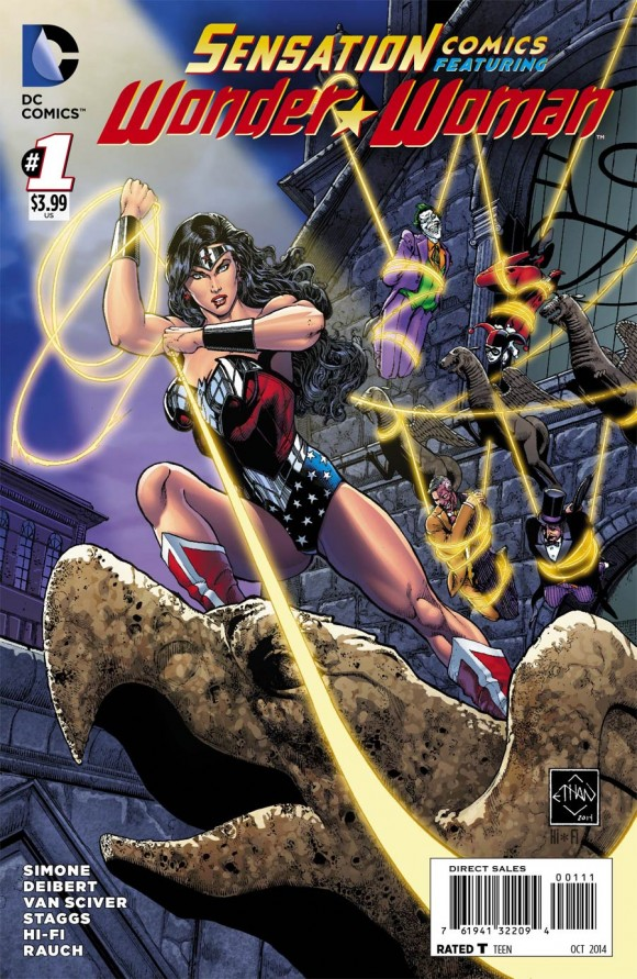 Main cover by Ethan Van Sciver