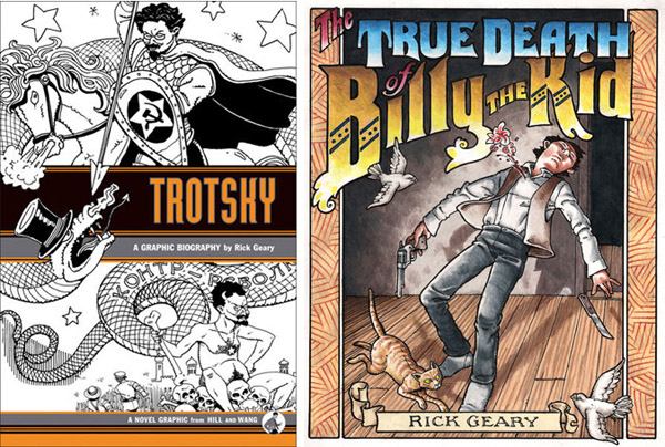 Trotsky/The True Death of Billy the Kid, by Rick Geary