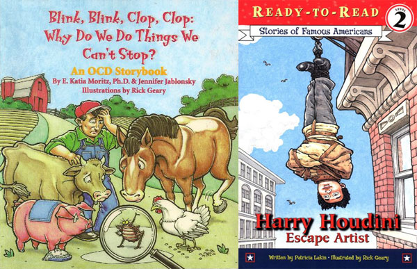 Blink Blink Clop Clop/Harry Houdini, by Rick Geary