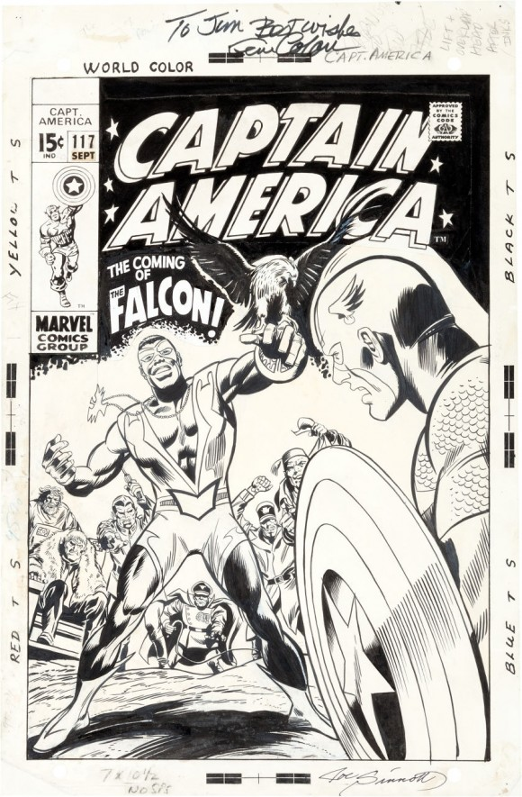 Captain-America-issue-117-cover-by-Gene-Colan-and-Joe-Sinnott