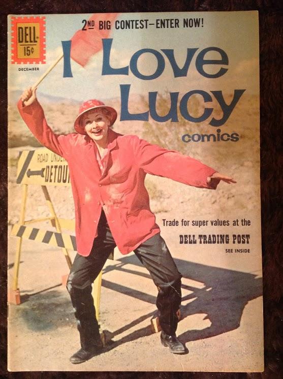 I Love Lucy Comics  #33, 1961