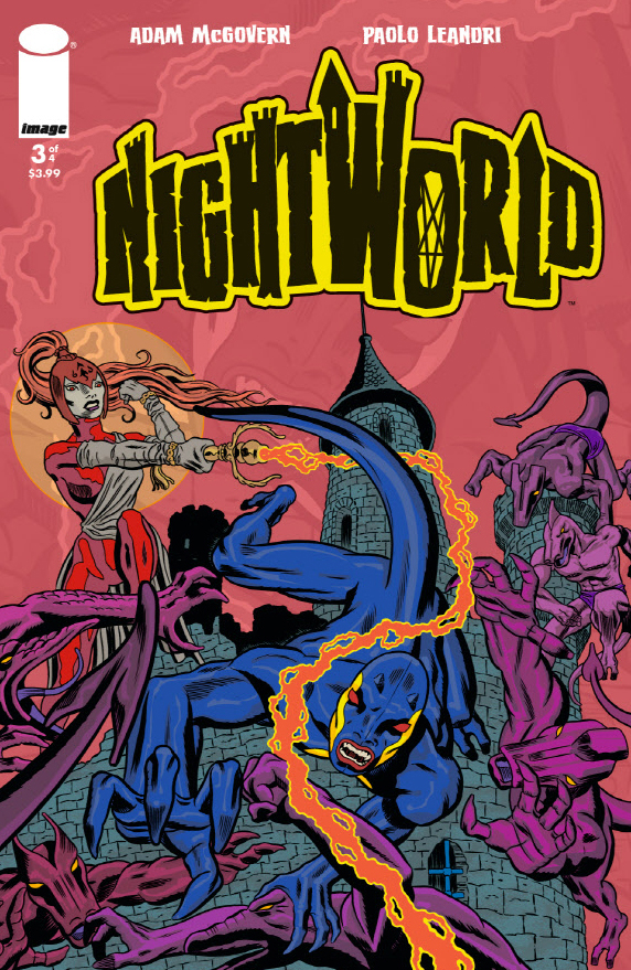 Nightworld Issue 3 front cover