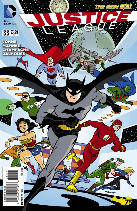Darwyn Cooke's Batman 75 variant!