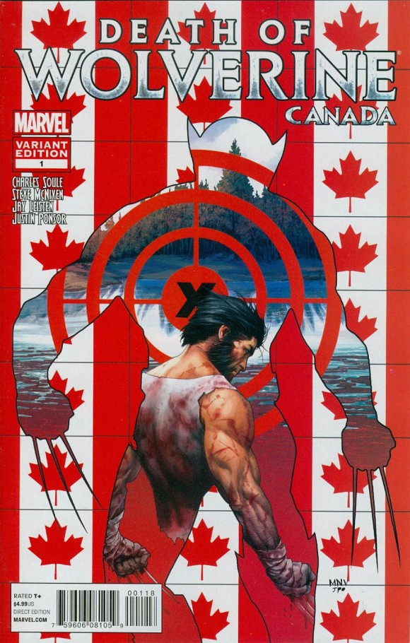 Steve McNiven. Why do I love Canadian variants? Why is that?