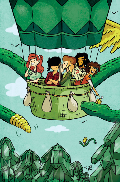 A Lumberjanes exclusive variant cover for Emerald Comic Con.