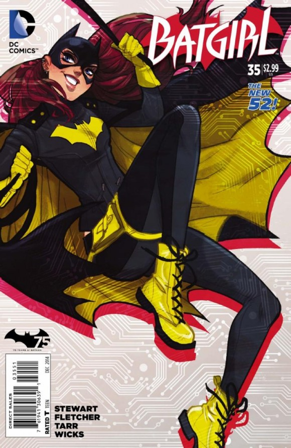 Babs' variant cover
