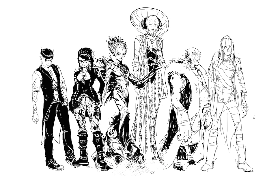 The cast of Klarion