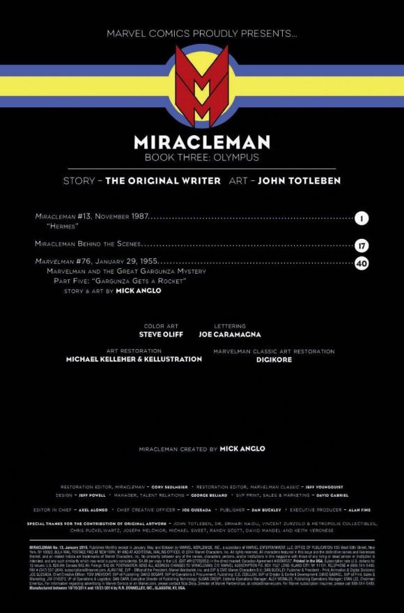 MIRACLEMAN creds