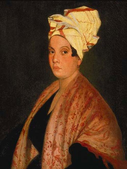 Marie Laveau, by Franck Schneider, c. 1920
