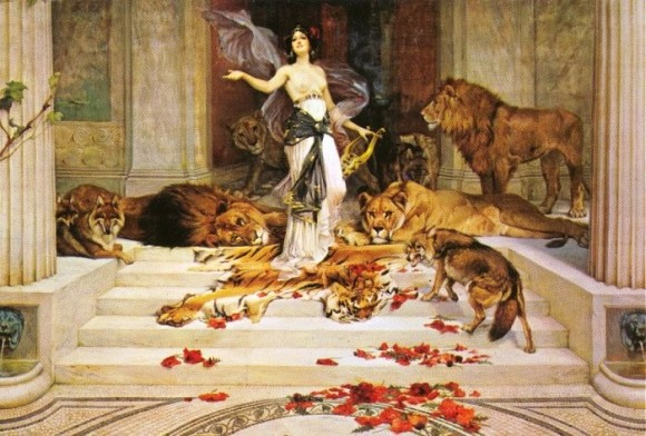 Circe, by Wright Barker, 1889