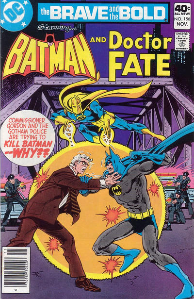 Gordon didn't always make the cover, but here he takes on Batman -- WHY??