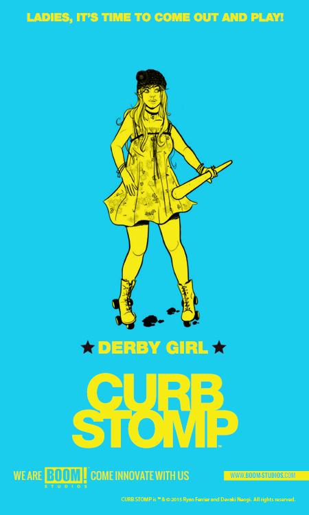 Curb Stomp Digital Promotion Teaser - Derby Girl
