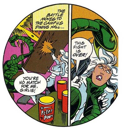 "from ""Spider-Man: The Scorpion Sanction"" (1994), script by Mark Bernardo, art by Alex Saviuk"