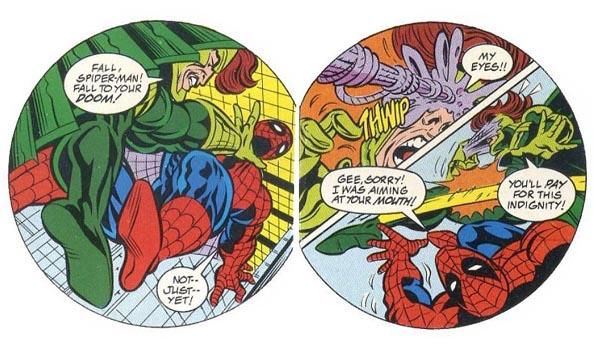"from ""Spider-Man: The Vulture's Nest"" (1994), script by Mark Bernardo, art by Bob Gordon and Bill Anderson"