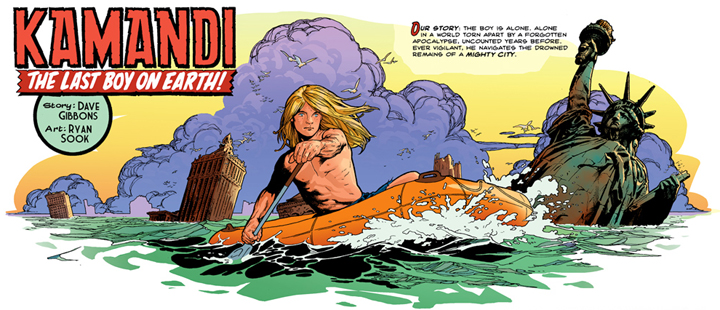 Imagine what these guys could do with Kamandi.