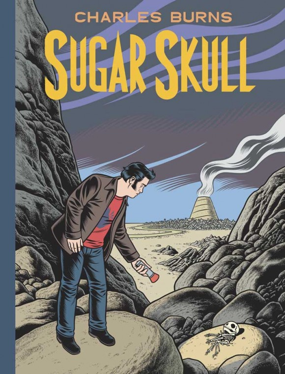 "Charles Burns' new book ""Sugar Skull"""