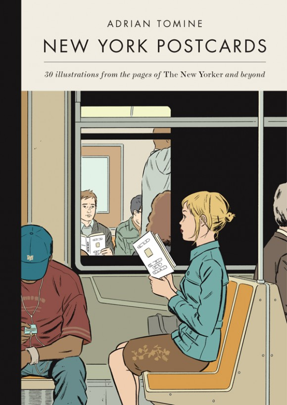 "Adrian Tomine's ""New York Postcards"""