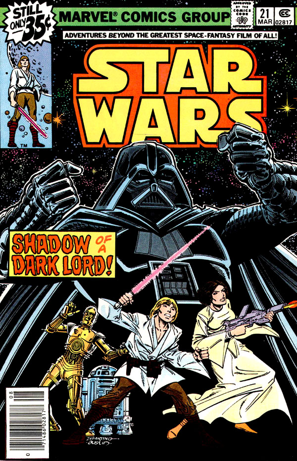 Cover of Star Wars #21 (1979), art by Carmine Infantino and Terry Austin