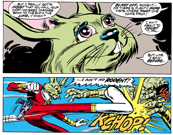from Star Wars #8 (1978), script by Roy Thomas, art by Howard Chaykin and Tom Palmer