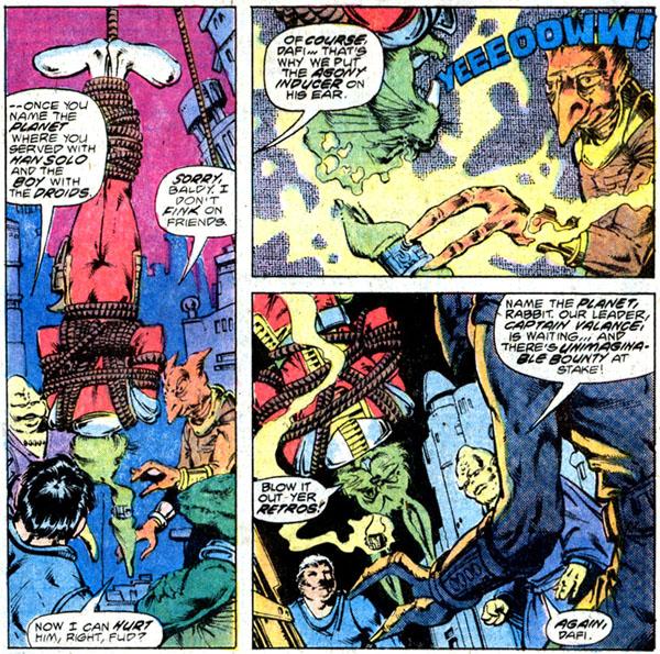 from Star Wars #16 (1978), script by Archie Goodwin, art by Walt Simonson and Bob Wiacek