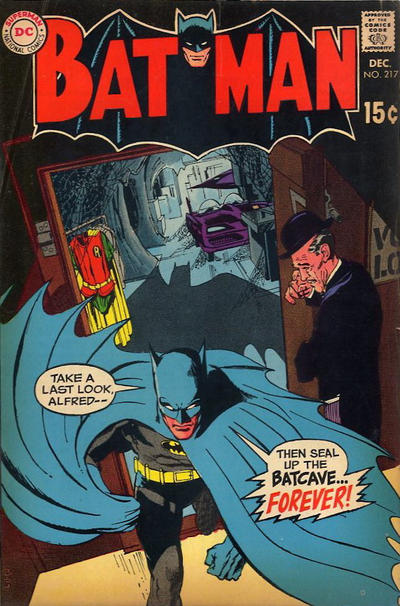 The famed issue where Robin moves out, written by Robbins.