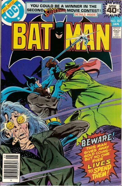 The first issue of Wein's regular Batman run