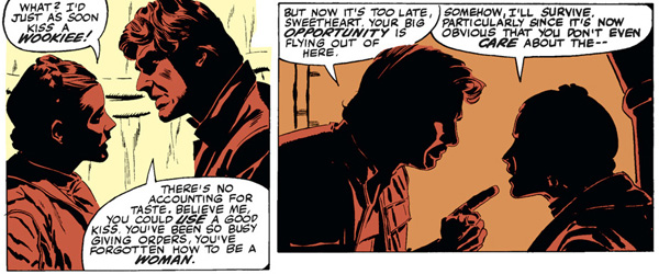 from Star Wars #39 (1980), script by Archie Goodwin, art by Al Williamson and Carlos Garzon