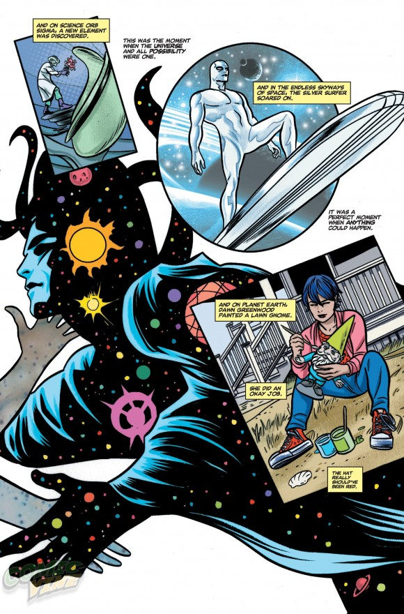 From Allred's Silver Surfer #3