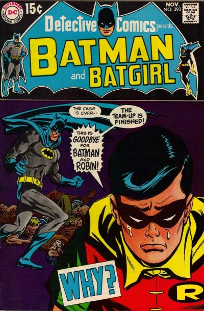 The last issue before Dick Grayson went to college.