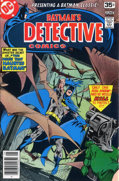 Wein wrote the framing sequence in this issue ... which reprinted his first Batman story!