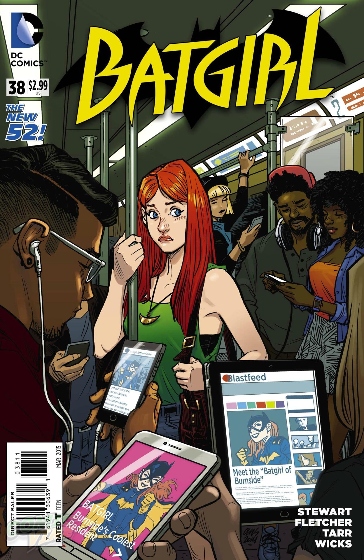 BATBOOK OF THE WEEK: Batgirl #38 | 13th Dimension, Comics ...