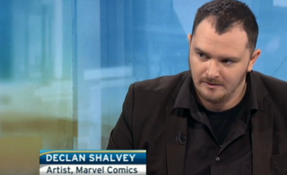Shalvey on Irish TV. H/T iFanboy.