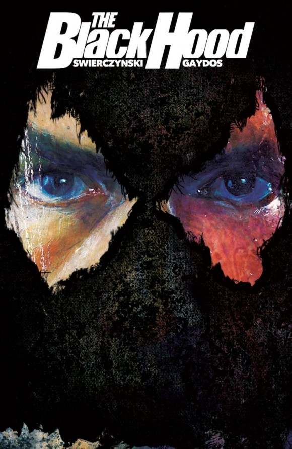 Michael Gaydos' main cover to The Black Hood #1