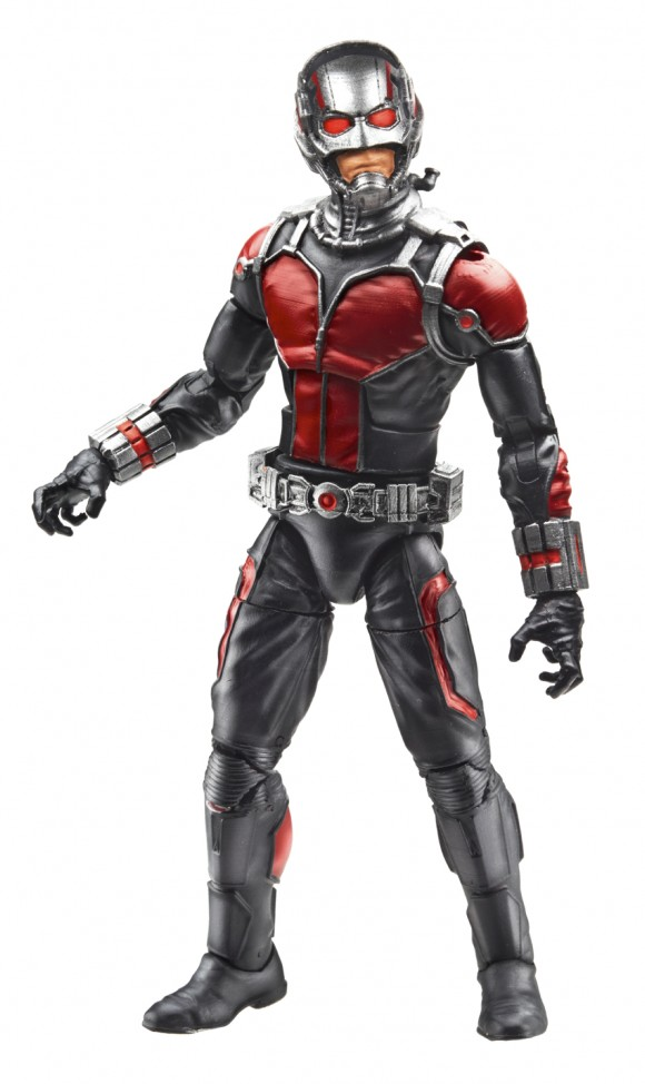 6-inch scale Ant-Man ... with scaled down Ant-Man and ant