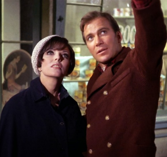 Joan Collins and William Shatner