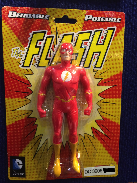 Finally ... the FLASH!