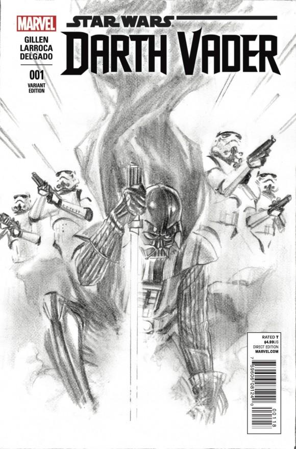 Alex Ross sketch variant