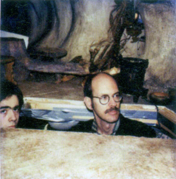 Mike and Frank Oz, courtesy of Quinn.