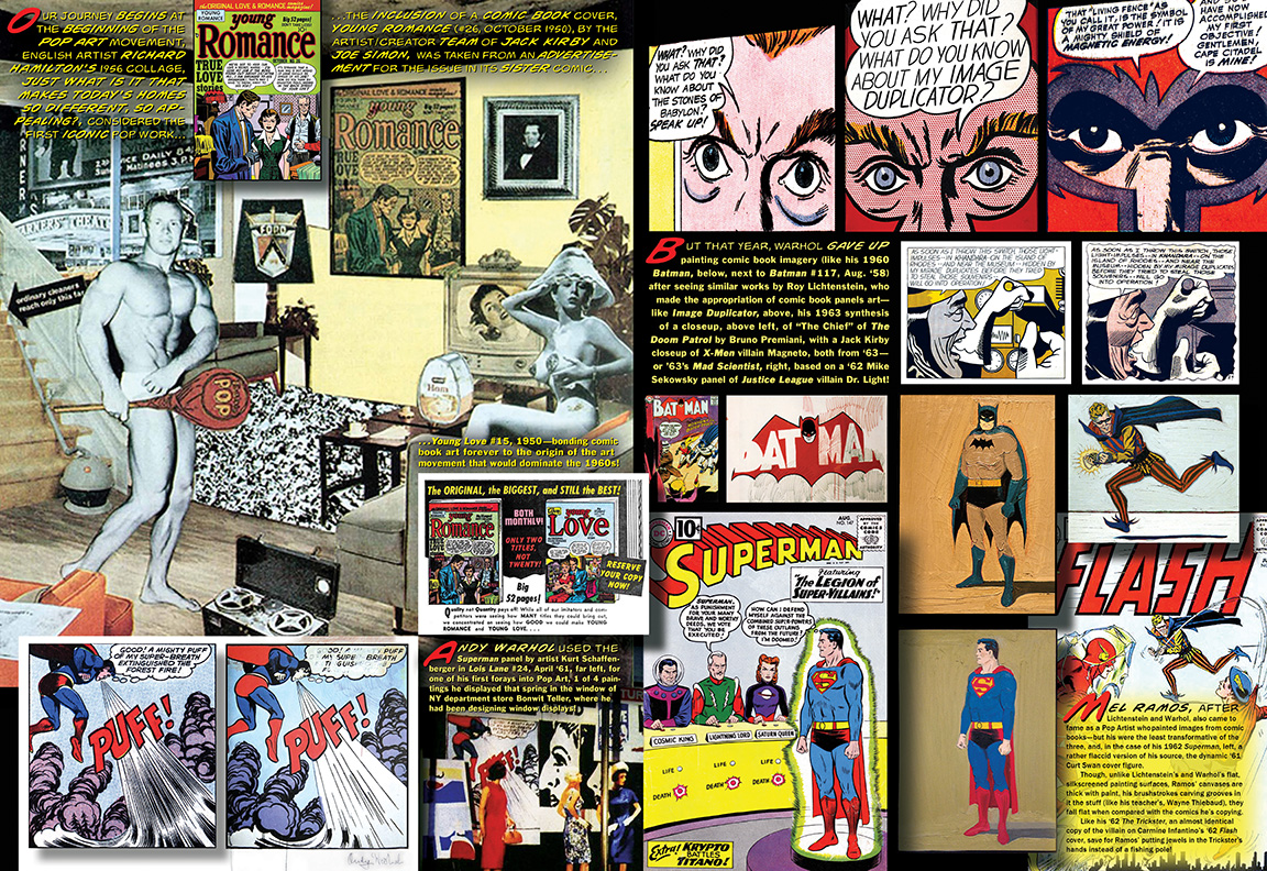 How To Paint Paneling Art Amp Comic Book Art By Arlen Schumer 13th Dimension