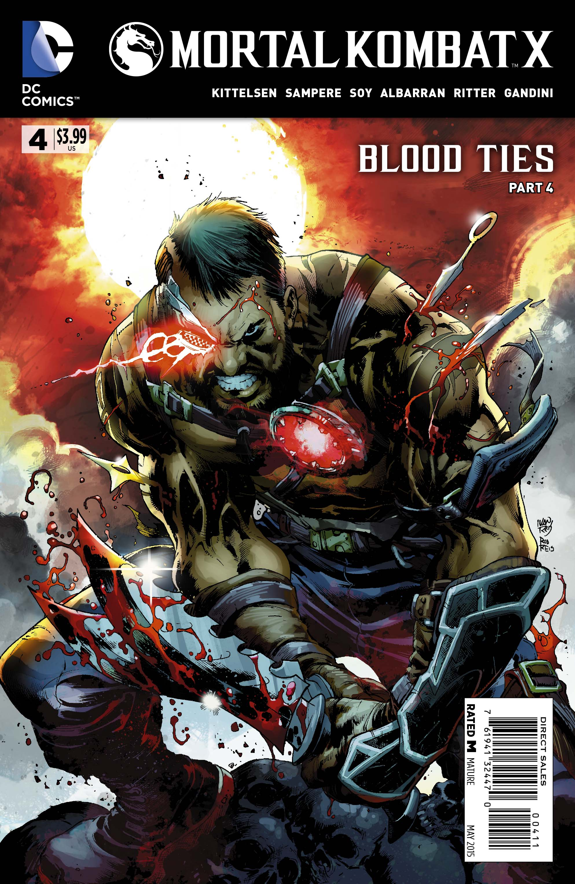 EXCLUSIVE Preview: MORTAL KOMBAT X #4 | 13th Dimension