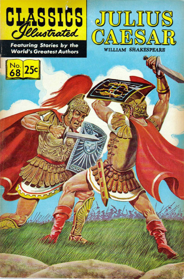 cover of Classics Illustrated #68 (1950), art by Henry C. Kiefer